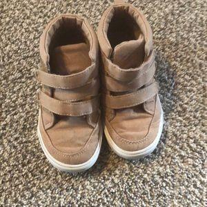 Toddler Boy tan shoes